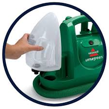Upholstery Cleaners Machines Bissell Little Green Portable Spot And Stain Cleaner 1400m