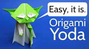 origami yoda easy tutorial star wars origami youtube