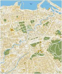 Edinburgh Map Download Edinburgh Vector Maps As Digital File Purchase Online