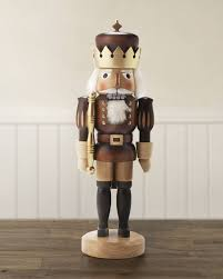 german nutcracker soldier gold and natural balsam hill
