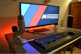 Gaming Desk Setup by Pin By Top Best Gaming Desks On Gaming Desks Pinterest Gaming