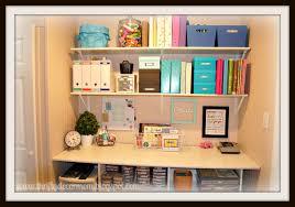 an organized craft space thrifty decor mom craft storage ideas