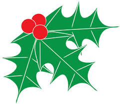 free holly clip art image clip art image of holly leaves with