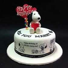 snoopy cakes fondant 3d snoopy fondant cakes jb kl penang cakedeliver 新山