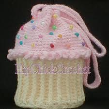 cupcake purse large version cupcake purse or tote bag crochet pattern