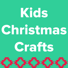 fast five kids christmas crafts and sew we craft