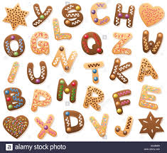 christmas cookies abc loosely arranged find all letters of the