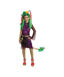 Girls Monster Halloween Costume by Jinifire Long Monster High Kids Costume Girls Costume
