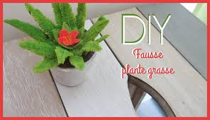 Fausse Plante Ikea by Diy Imitation Plante Verte Youtube