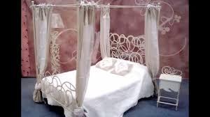 fer forgé chambre coucher lits à baldaquin en fer forgé nouveautés en décor maison