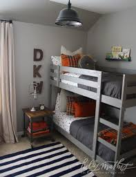 Bunk Bed Boy Room Ideas 10 Awesome Boy S Bedroom Ideas Orange Boys Bedrooms Small