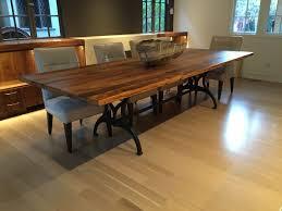 stunning custom built dining room tables contemporary home