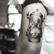Tattoos For Triceps View Hourglass 45 Hour Glass Ideas Black Triceps Wolf
