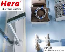 Showcase Lighting Fixtures Hera Stem Led Showcase Lighting Hera S New Stem Led Is An