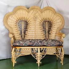 furniture durable wicker loveseat for indoor and outdoor