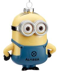 despicable me minion dave two personalized ornament
