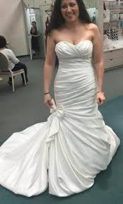 davids bridal david s bridal v3204 plus accessories 175 size 8 new un