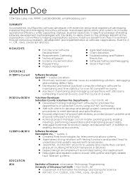Resume Samples Java by Exciting Free Sample Java Developer Resume For Junior Description