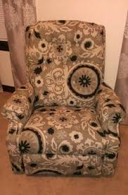 slipcovers for lazy boy chairs reupholstered lazyboy tutorial this tutorial may just be a