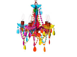 Multi Coloured Chandeliers Silly L 5 Arms Chandelier Small Multi Colour Co
