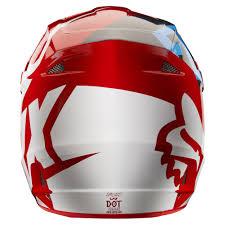 fox v1 motocross helmet 2018 fox racing v1 race helmet red sixstar racing