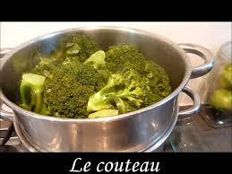 cuisiner le brocolis frais recette brocolis vapeur wmv