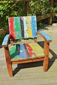 teak chairs made from recycled boat punk it up recycled