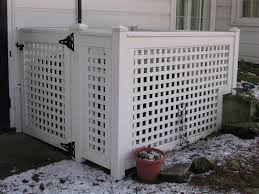 white wood lattice panels to hide the garbage cans u2026 pinteres u2026
