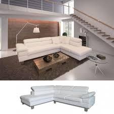 canapé d angle en simili cuir canapé d angle 6 places prix soldes promo canapés discount pas cher