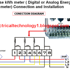 cool kilowatt hour meter wiring diagram kilowatt hour meter wiring