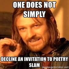 Poetry Meme - teen poetry slam next week kent district library