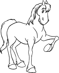 jaq gus bruno horse coloring pages wecoloringpage