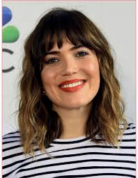 haircuts and bangs most popular medium length haircuts 2018 with bangs best