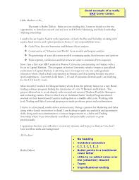 Example Of A Great Cover Letter For Resume by Really Good Cover Letter Examples