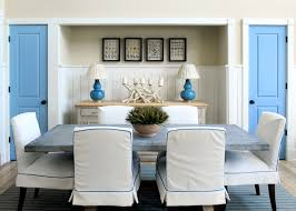Chic Dining Room Inspirations On The Horizon Coastal Chic Dining Rooms