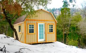 Gambrel Cabin Plans Custom Storage Buildings Garages Sheds In Orange County