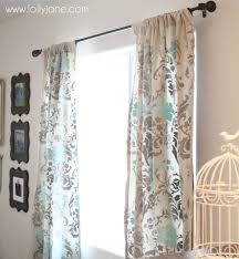 Gray And Turquoise Curtains Rugs Curtains Gray And Aqua Sheer Floral Curtains For