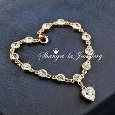 gold bracelet with love heart images L343 18k gold gf love heart charm wedding bracelet bh343 88000 JPG