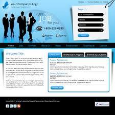 template 8 recruitment website design uk job boards career