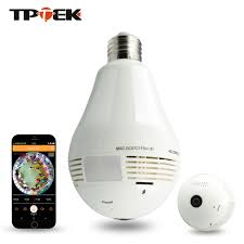 wifi camera light bulb socket 1 3mp bulb light wireless ip camera panoramic wi fi l fisheye