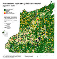 Map Of Wisconsin by Wisconsin Historic Landscape Project