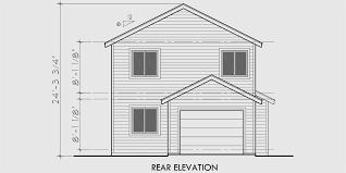 narrow lot house plan narrow lot house plans with front garage home design