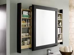 Recessed Bathroom Medicine Cabinets Popular Of Modern Bathroom Medicine Cabinets With Wood Framed