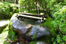 bamboo water fountain u2013 top easy design to start a backyard garden