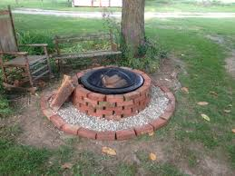 fire pits are beautiful when you fix them up i used bricks and