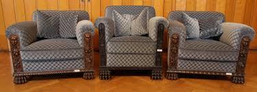 Chippendale Esszimmer Gebraucht Ein Figürlicher Sessel Epoche Neorenaissance Holzart Nussbaum