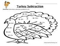 free printable thanksgiving math worksheets classroom potential