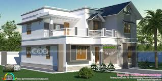 2285 square feet 4 bhk home in mixed roof style 건축