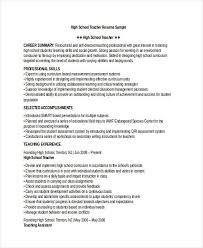 resume template for teachers 28 resume templates free premium templates