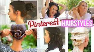 10 pinterest hairstyles tested for short hair and long hair